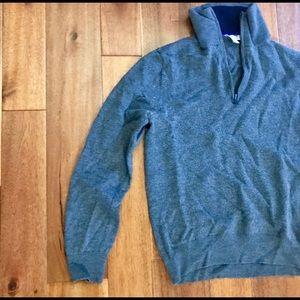 GAP Merino Wool 1/4 ZIP Sweater